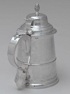 Tankard, ca. 1795 -   Paul Revere, Jr. (American, 1734–1818)  Silver silver servic, american silver, precious silver, paul revere silver