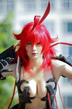 geek, fan art, cosplay, red, halloween costume ideas, halloween costumes, witchblad, comic art, anime