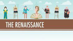Quick Crash Course on the Renaissance. The Renaissance: Was it a Thing? - Crash Course World History #22, via YouTube.