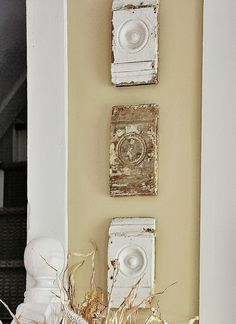 Cool wall decor idea using molding by @deb rouse schwedhelm rouse schwedhelm Keller Farm