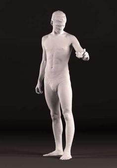 Sebastian Sauve Becomes a Modern-Day Michelangelo's David