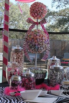 candy buffet, giant lollipop, bachelorette parties, birthday parties, grad parties
