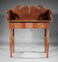 A West Indies Boldly Carved Hardwood Sideboard
