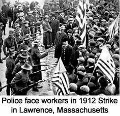 Police arrest striking fast food workers. Same as it always was 1912 & 2014