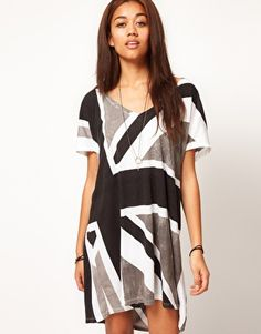 Enlarge Religion Exclusive to ASOS Union Jack Dress