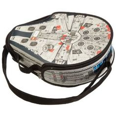 Star Wars Millenium Falcon Lego Carrying Case (Large): Amazon.co.uk: Toys & Games. Cool!