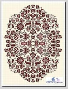 free pattern pattern, crossstitch, broderi, cross stitches