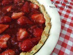 Fresh Strawberry Pie (Paleo)
