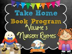 Take Home Book Program Volume 3: Nursery Rhymes