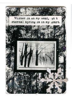 Artist Trading Card Swap- Winter Theme