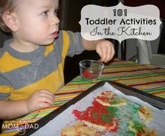 101 Toddler Activities ~ In the Kitchen