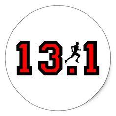 Training for a half marathon.