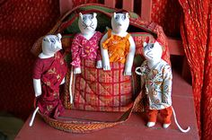 Very cute, from India! Soma crafts
