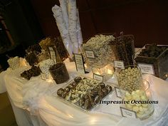 Little Bits of Lovely: Wedding Inspiration: Candy Bars