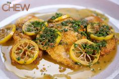 Clinton Kelly's Chicken Francese #TheChew
