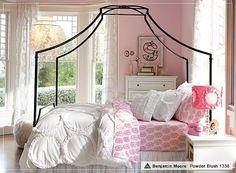 I love this ruffled bedspread! (Pottery Barn Teen)