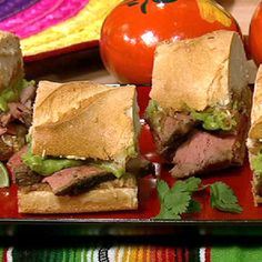 Pepito Mexican Steak Sandwich - from The Chew