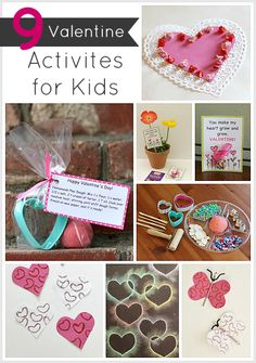 9 Valentine Crafts & Activities for Kids (Homemade valentines, sensory activities and more!)