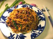 OFM beef lo mein