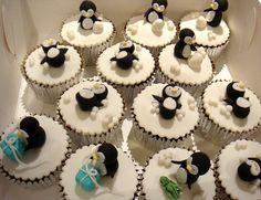 Penguin Cupcakes 4