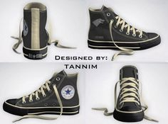 Game of Thrones House Sigil shoes!