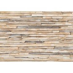 100 in. x 0.25 in. Whitewashed Wood Wall Mural-8-920 at The Home Depot