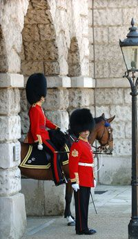 Buckingham Palace and the Changing of the Guard, London