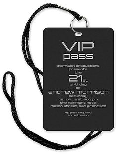 Invite your friends to your VIP Birthday event!  - By Checkerboard
