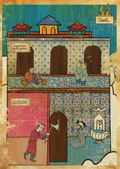 Murat Palta's oriental cinematic miniatures: THE SHINING