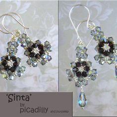 crystals, jewelry tutorials, bead earring, pendant, ideastutori, craft idea, crystal earrings, diy earring, jewelri