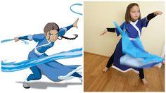 Waterbender costume!