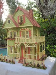 Very beautiful dollhouses