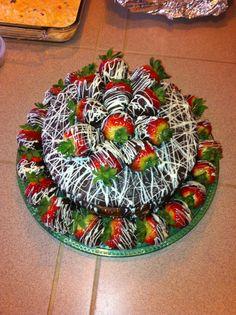 Chocolate Covered Strawberry Cake......  Yummy !!!