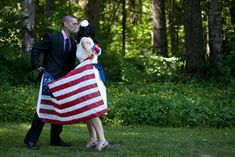 All-American 4th of July wedding