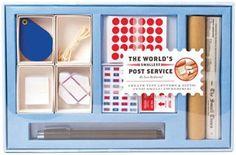 world's smallest postal service - tiny mail stationery kit