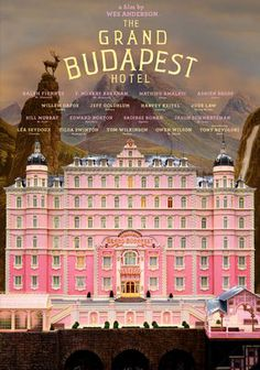 The Grand Budapest Hotel is an absolutely delightful comedy that I enjoyed watching. I love this old school slapstickish comedy that takes place during the WW1 era. The script was wonderfully written and the acting is top notch. It even had a plot that was easy to follow and funny. Highly recommended.