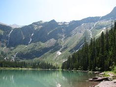 Avalanche Lake, Montana