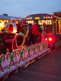 chicago christmas train | Chicago Christmas El Train | Christmas picture