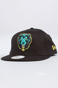 Mishka - The Death Adders New Era Snapback Cap in Black