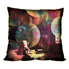 """""""Thought Forms"""" D3PO Double Sided Pillow w/ Hidden Zipper"""