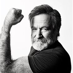 """""""No matter what people tell you, words and ideas can change the world."""" -- Robin Williams"""