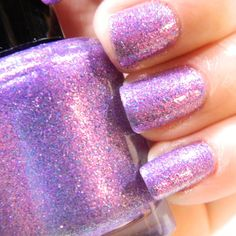 Lilac Dreams nail polish by KBShimmer. Her and NailsbyLaura are two etsy sellers with awesome nail polish.