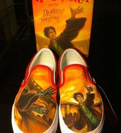 Harry Potter Shoes- must make:D
