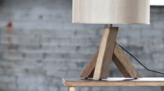 Plank Lamp