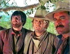 Henry Darrow, Mark Slade, Bob Hoy in The High Chaparral