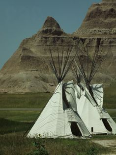 Badlands in South Dakota