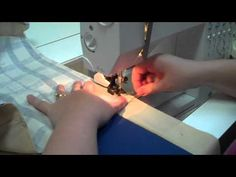 creating mitered quilt borders - YouTube