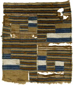 textile fragment, Peru, 800 AD