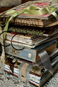Life is a Beautiful Place to Be: Journals, Journals, Journals -- love these!