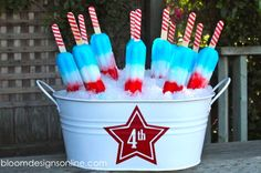 Perfect Fourth Of July Dessert